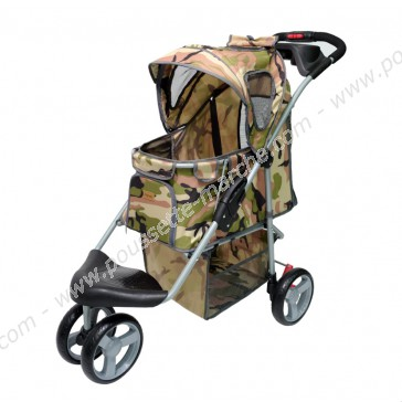 Poussette chien Innopet Buggy Camouflage