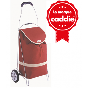 Caddie Basic 40litres rouge