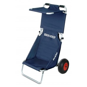 Chariot-plage-Eckla-bleu-protection