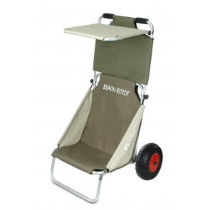 ECKLAROOF - Chariot de plage Rolly olive